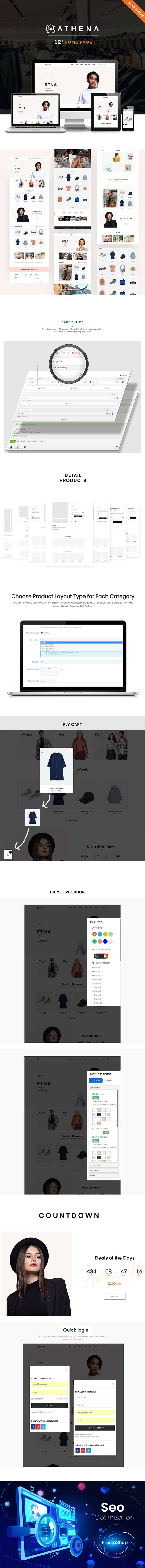 Athena-Fashion, Accessories prestashop 1.7 themes